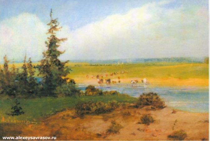 Летний пейзаж. 1850-е