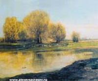 Ивы у пруда. 1872