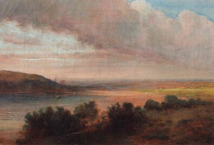 На Волге. Первая половина 1870-х