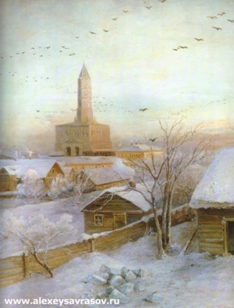 Сухарева башня в Москве. 1872
