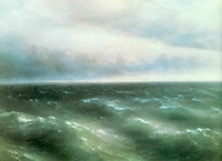 Черное море (И.К. Айвазовский, 1881 г.)
