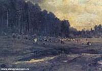 Лосиный остров в Сокольниках. Этюд. 1869