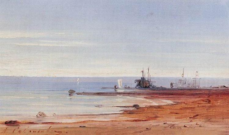 Море. 1860-е