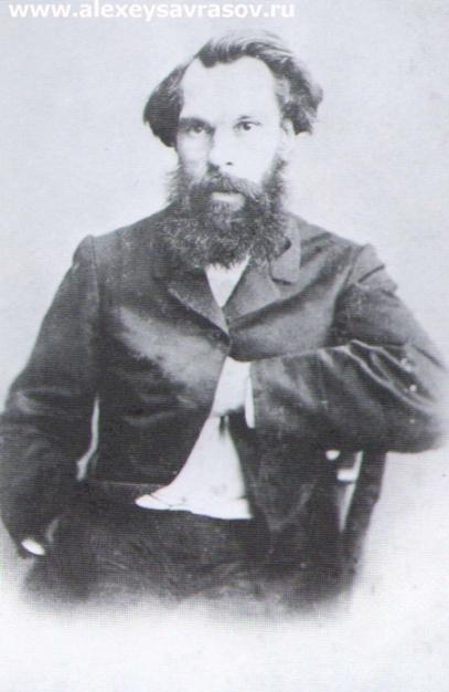 А.К. Саврасов Первая половина 1860-х.