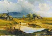 Сельский пейзаж. 1880-е