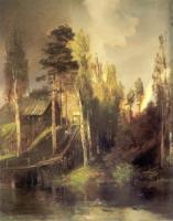 У ворот монастыря. 1875
