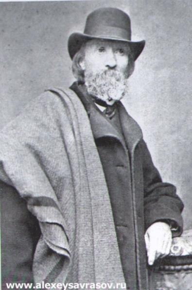 К.К. Герц художник, брат жены А.К. Саврасова 1870-е