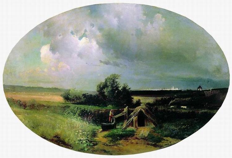 Вид на Москву от Мазилова. 1861