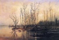 Ранняя весна. Половодье. 1868