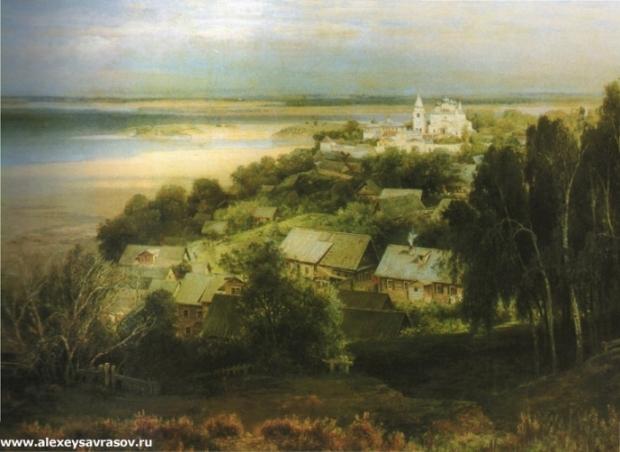 Печерский монастырь под Нижним Новгородом. 1871