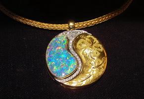 Ожерелье с использованием зерни