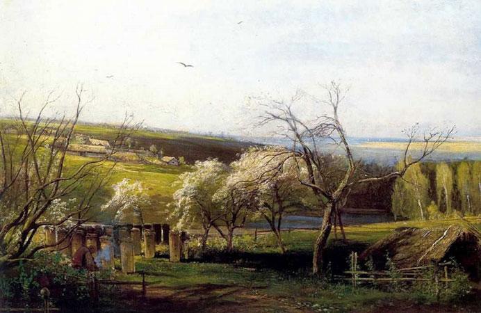 Сельский вид (Саврасов А.К.)