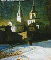 Церковь Ильи Обыденного в Москве. 1882