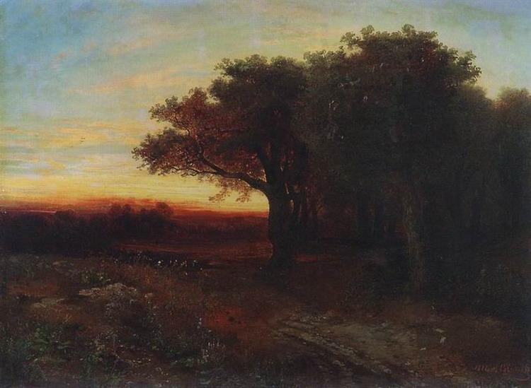 Закат. 1862