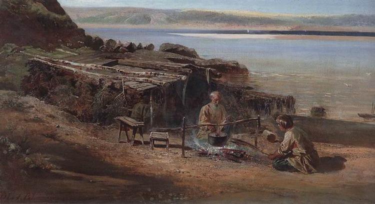 Рыбаки на Волге. 1872