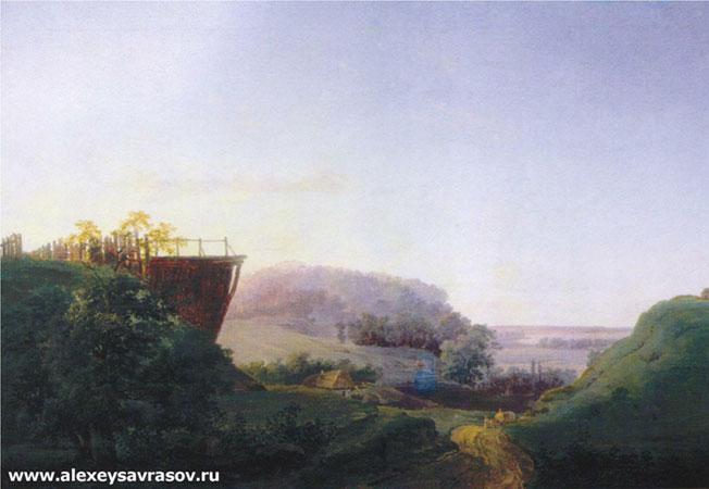Украинский пейзаж (Саврасов А.К.)